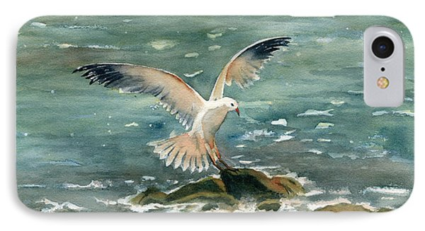 Seagull IPhone Case by Melly Terpening