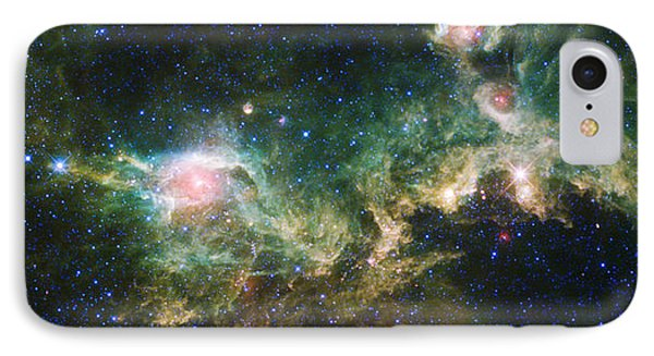 Seagull Nebula IPhone Case by Adam Romanowicz