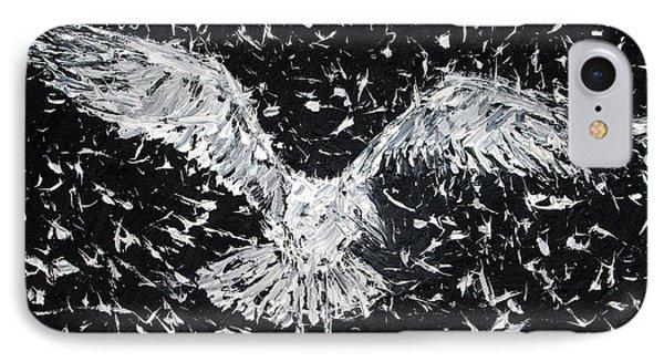 Seagull - Oil Portrait Phone Case by Fabrizio Cassetta