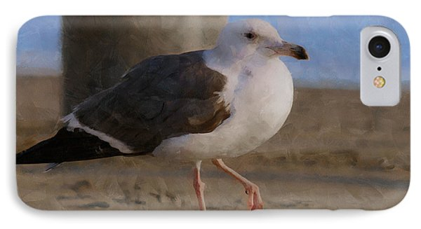 Seagull On The Beach IPhone Case