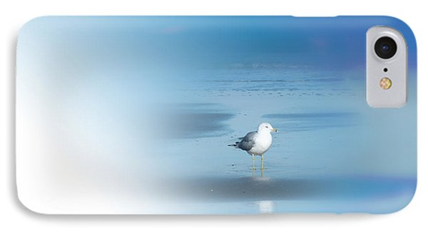 IPhone Case featuring the photograph Seagull Standing Photo by Frank Bright