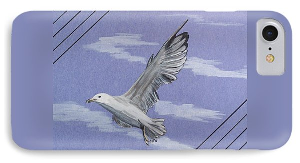 Seagull Phone Case by Susan Turner Soulis