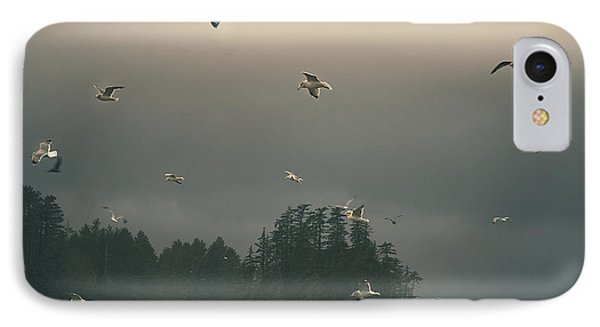 Seagulls In A Storm IPhone 7 Case