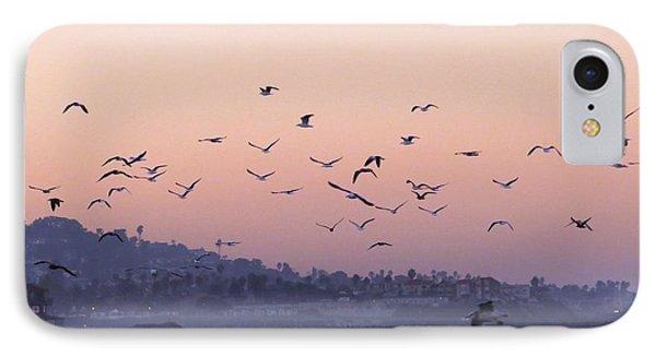 Seagulls Sunrise IPhone Case