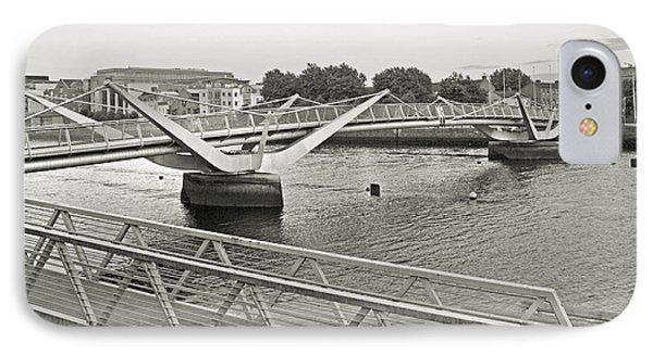 Sean O'casey Bridge Dublin Ireland IPhone Case