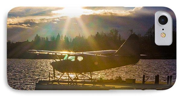Seaplane Sunset IPhone Case