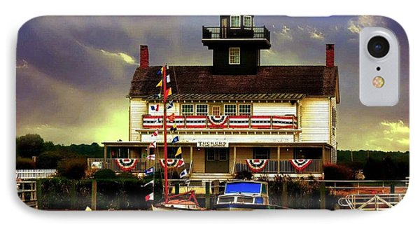 Seaport. Tuckerton Nj IPhone Case by Allen Beilschmidt