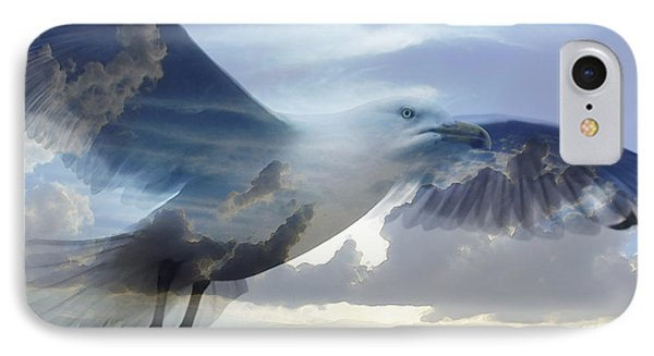 Searching The Sea - Seagull Art By Sharon Cummings IPhone 7 Case