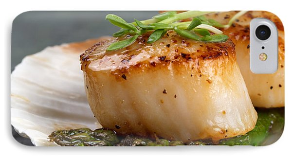 Seared Scallops IPhone Case by Jane Rix