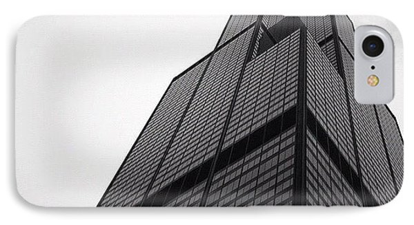 Sears Tower IPhone Case by Mike Maher