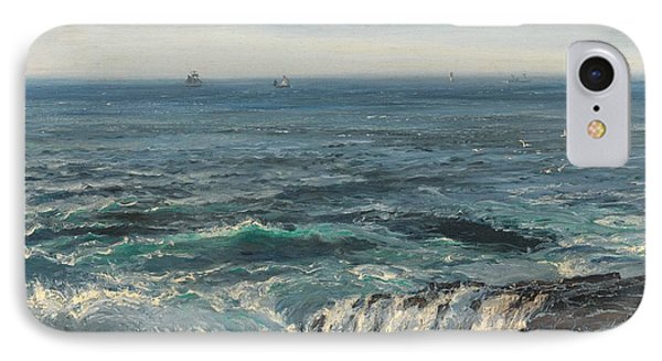 Seascape 1877 IPhone Case by Henry Moore