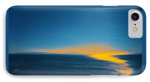 Seascape At Sunset Phone Case by Ben and Raisa Gertsberg