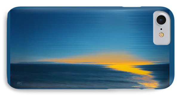 Seascape At Sunset IPhone Case by Ben and Raisa Gertsberg