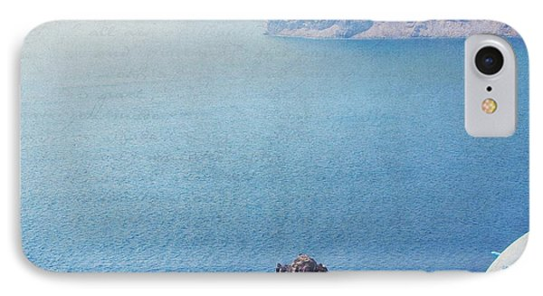 IPhone Case featuring the photograph Seascape - Santorini by Lisa Parrish