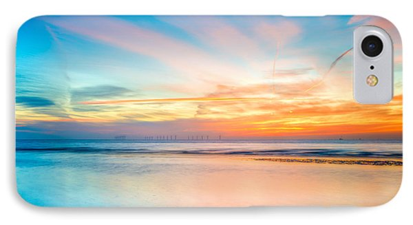 Seascape Sunset Phone Case by Adrian Evans