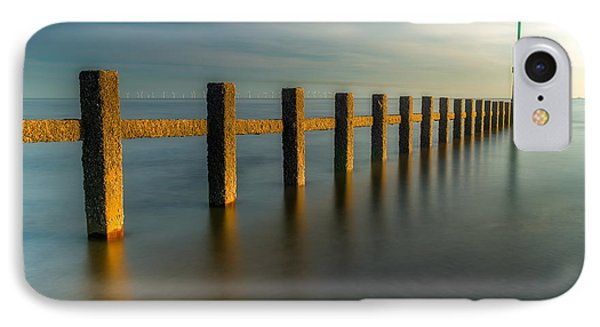 Seascape Wales IPhone Case by Adrian Evans