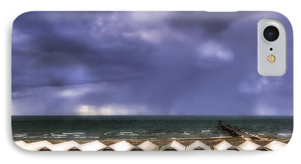Seascape With Bathing Huts IPhone Case