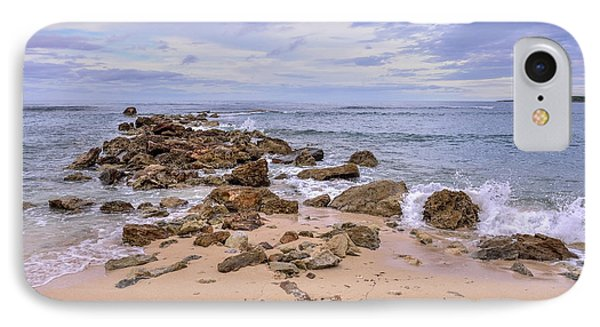 IPhone Case featuring the photograph Seascape With Rocks by Jola Martysz
