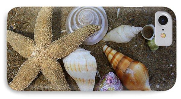 Seashells And Star Fish IPhone Case