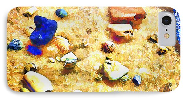 Seashells And Surf IPhone Case