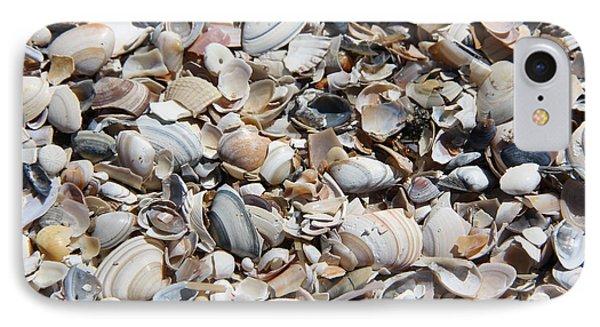 Seashells On The Beach IPhone Case