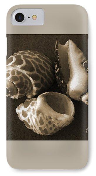 Seashells Spectacular No 1 Phone Case by Ben and Raisa Gertsberg