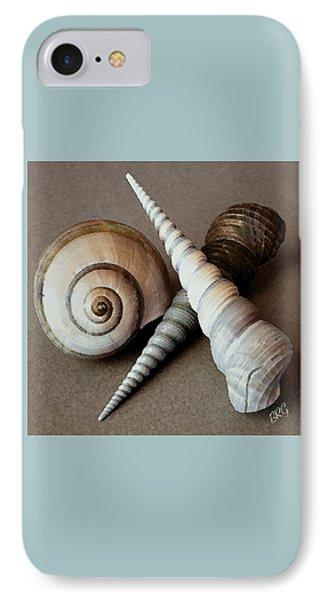 Seashells Spectacular No 24 Phone Case by Ben and Raisa Gertsberg