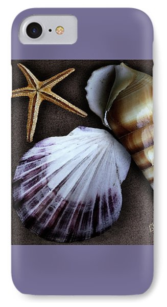 Seashells Spectacular No 37 Phone Case by Ben and Raisa Gertsberg