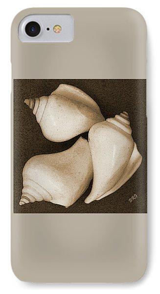 Seashells Spectacular No 4 Phone Case by Ben and Raisa Gertsberg