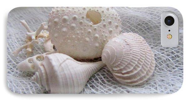 Seashells Study 1 Phone Case by Danielle  Parent