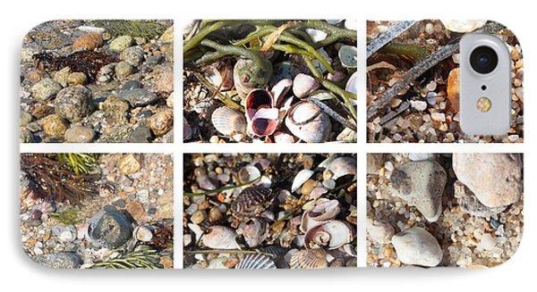 Seashore Collage Phone Case by Carol Groenen
