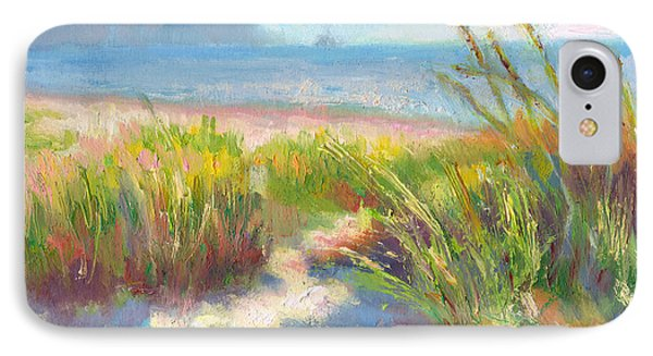 Seaside Afternoon IPhone Case by Talya Johnson