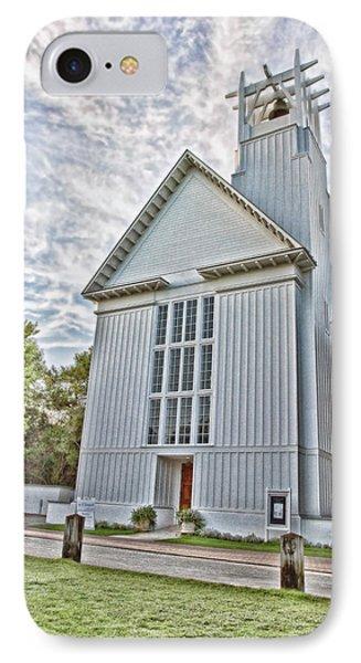 Seaside Chapel Phone Case by Scott Pellegrin