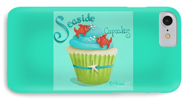 Seaside Cupcakes Phone Case by Catherine Holman