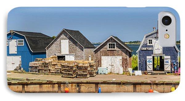Seaside Dock Of Prince Edward Island IPhone Case