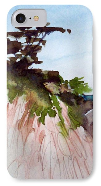 IPhone Case featuring the painting Seaside by Ed  Heaton