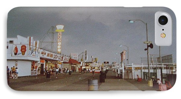 Seaside Heights Storm Phone Case by Joann Renner