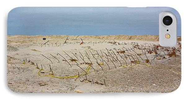 IPhone Case featuring the photograph Seaside Heights...beyond The Dunes. After Hurricane Sandy by Ann Murphy