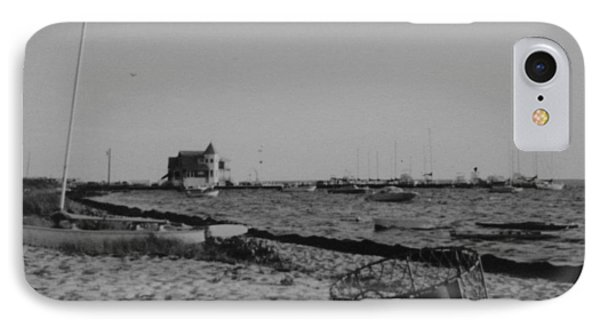 Seaside Park Nj Yacht Club Bw Phone Case by Joann Renner