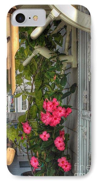 Seaside Porch Phone Case by Joann Vitali