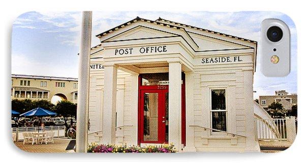 Seaside Post Office Phone Case by Scott Pellegrin
