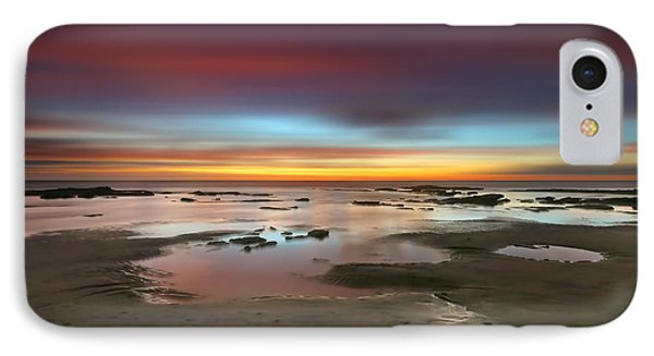 Seaside Reef Sunset 14 Phone Case by Larry Marshall