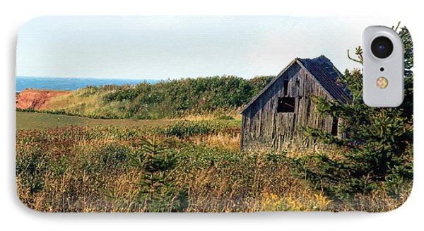 Seaside Shed - September Phone Case by RC DeWinter