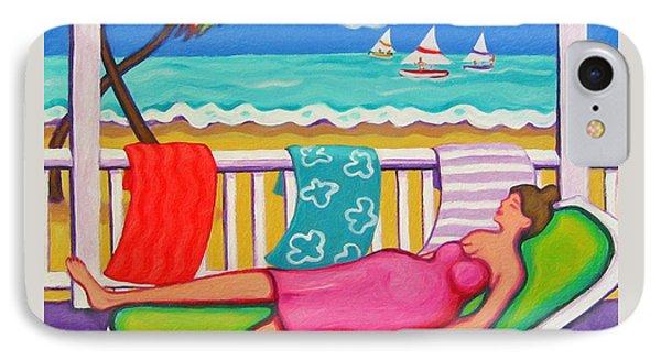 Seaside Siesta IPhone Case by Rebecca Korpita