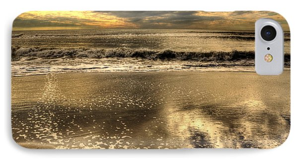 IPhone Case featuring the photograph Seaside Sunset by Julis Simo