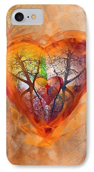 Season Of The Heart IPhone Case