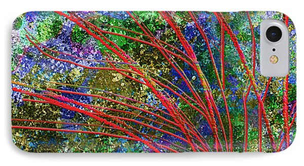 IPhone Case featuring the digital art Seasonal by Asok Mukhopadhyay
