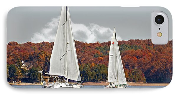 Seasonal Sailing Phone Case by Susan Leggett