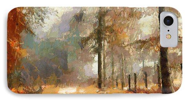 Seasons Come Seasons Go IPhone Case by Georgiana Romanovna