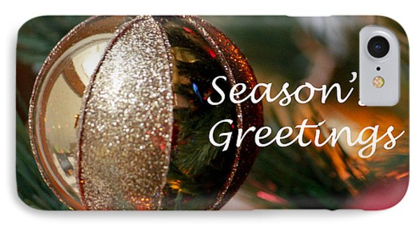 Season's Greetings IPhone Case by Ivete Basso Photography